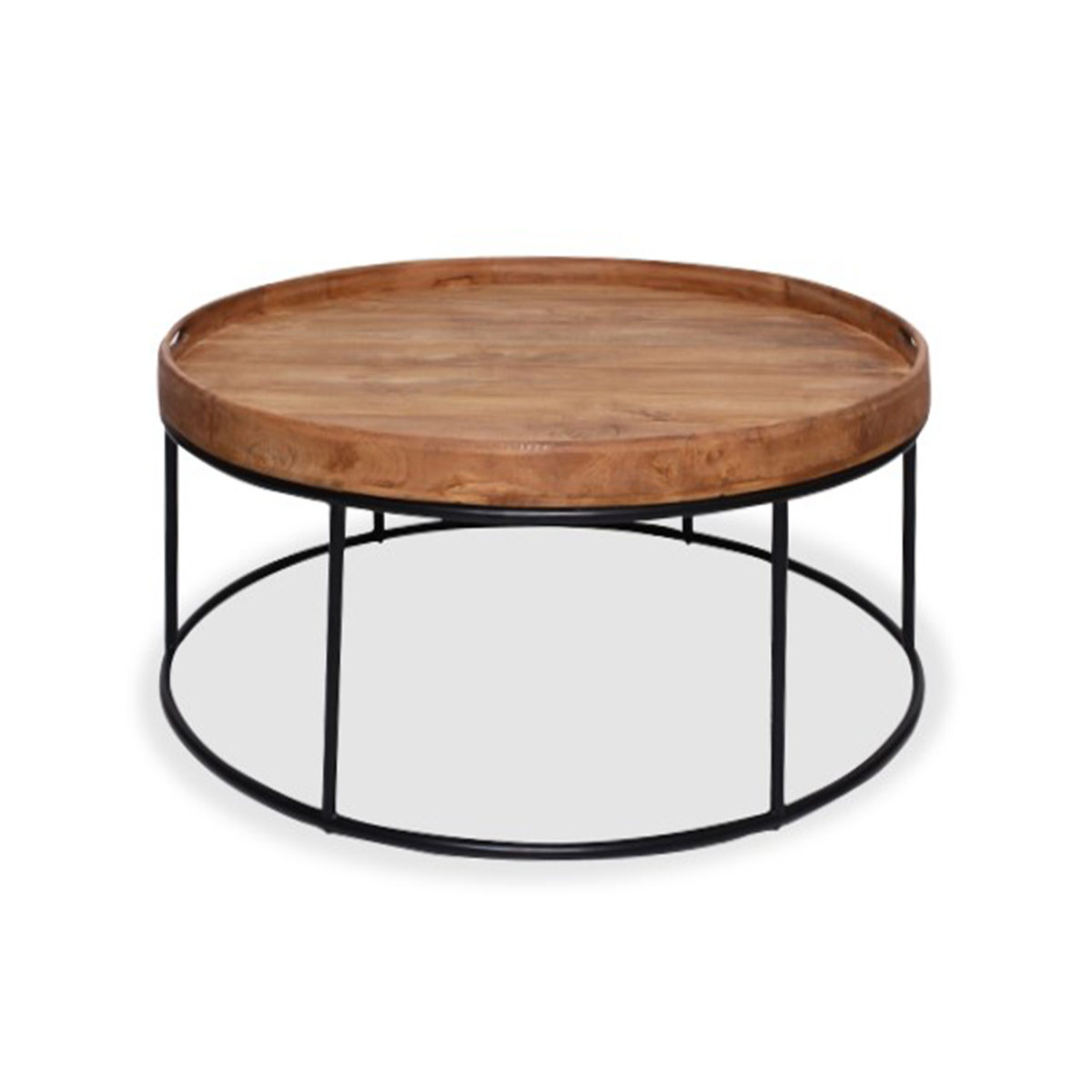 Denver Teak Round Coffee Table Large Ruma