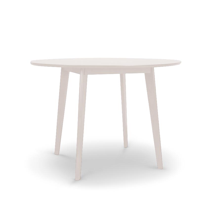 Daniela White Round Dining Table Ruma, White Round Table