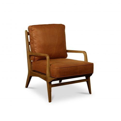 Hamilton Aged Oak Lounge Chair