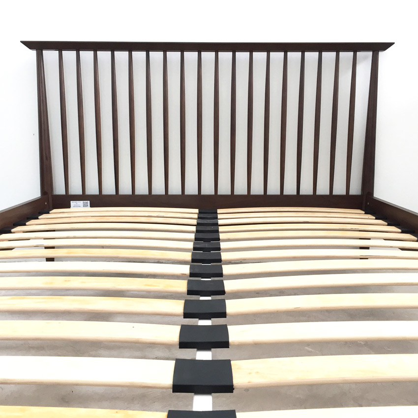 Linea Walnut Queen Bed Us Size, Linea Queen Bed