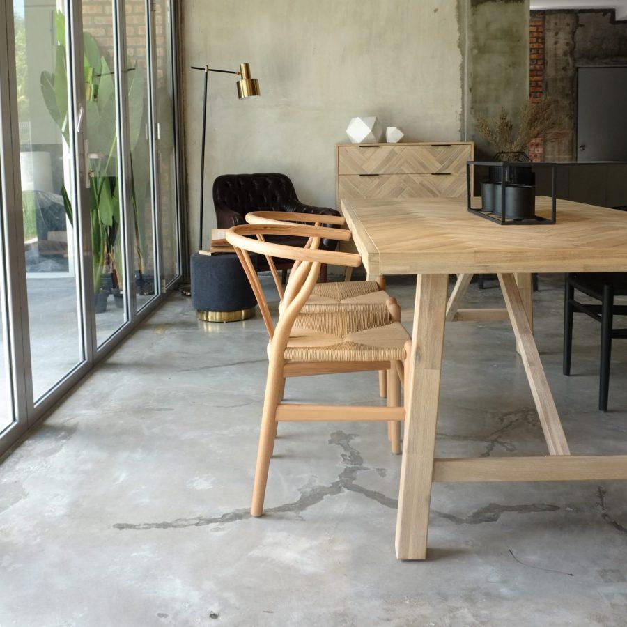 Brixton Parquet Table 200cm