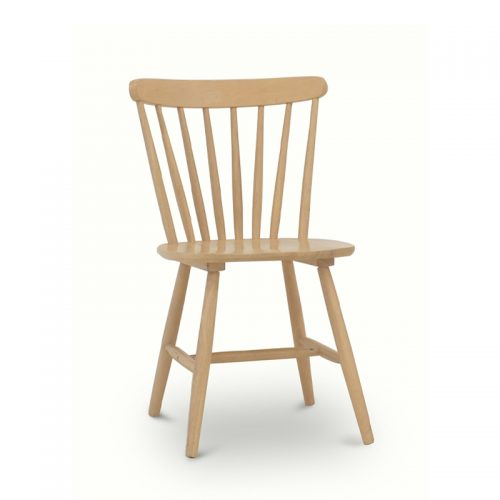 Brenna Oiled Oak Spindle Chair