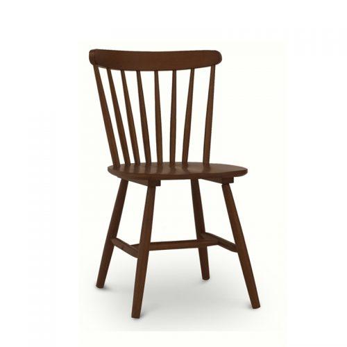 Brenna Sienna Brown Spindle Chair