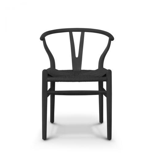 Replica Wishbone Chair Ebony