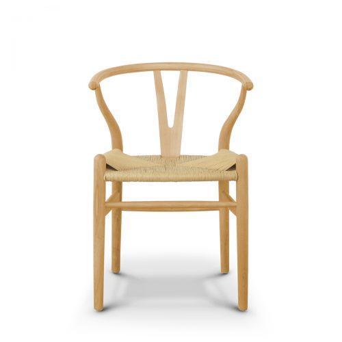 Replica Wishbone Chair Natural