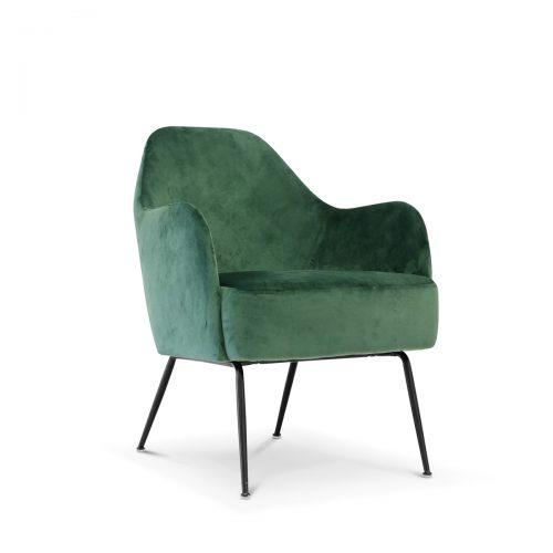 Tiffany Emerald Velvet Lounge Chair