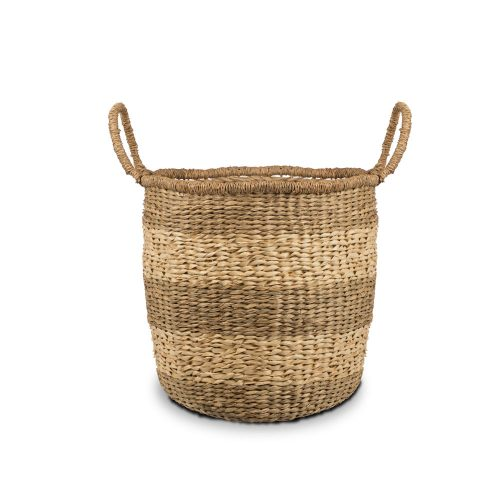 Wovenery Bold Seagrass Basket Large