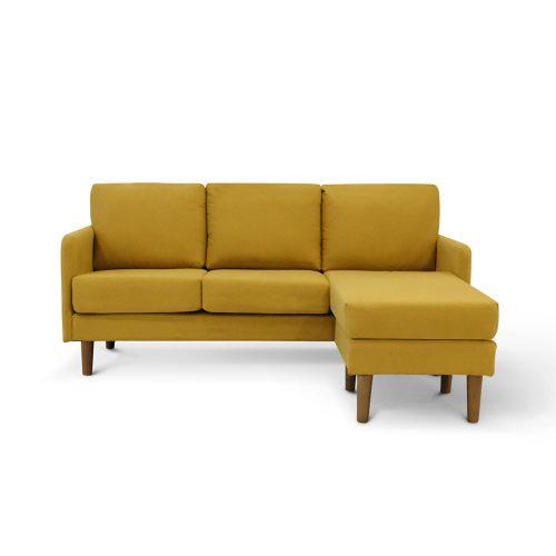 Brandon Mustard Sectional Sofa