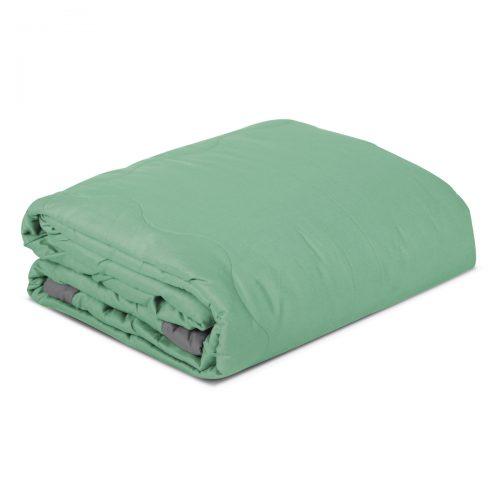 Aneta 100% Cotton Double Blanket/Bedspread – Green