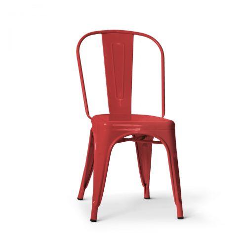 Replica Tolix Chair Crimson