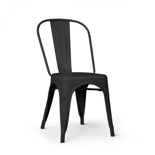 Replica Tolix Chair Matt Black