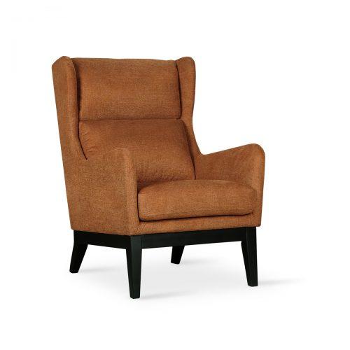 Farah Maroon Lounge Chair