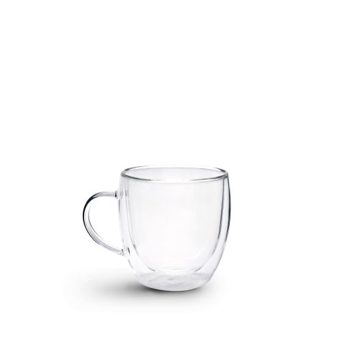 Brew Double Wall Glass with Handle 250ml