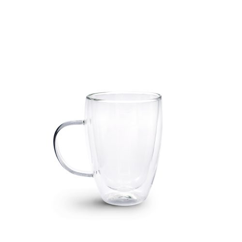 Brew Double Wall Glass with Handle 350ml